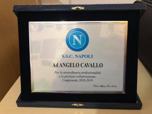 Targa S.S.C. Napoli
